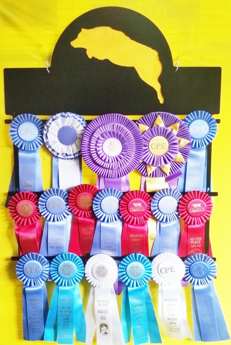 Ribbon holder Aussie
