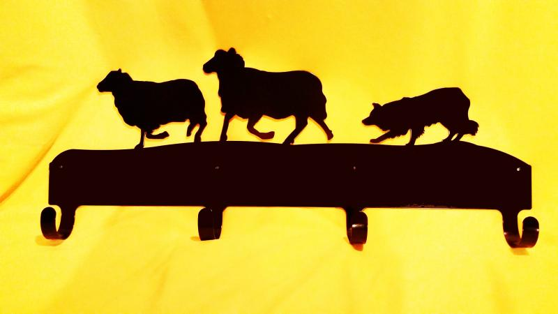 Herding Sheep coat rack