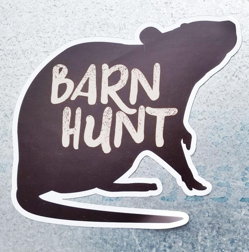 Barn Hunt rat magnet