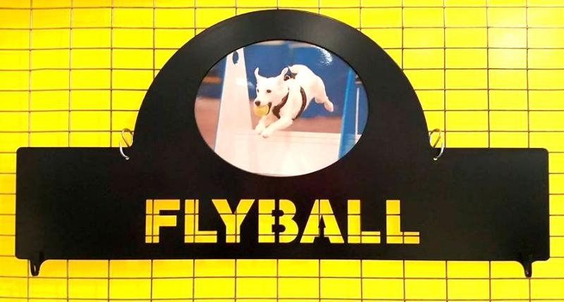 Flyball Ribbon Holder Block - $60